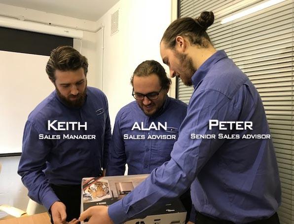 Meet the Technical Sales Advice Team